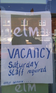 Elm Saturday job Didsbury